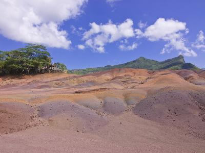 Chamarel Coloured Earths, Mauritius, Indian Ocean, Africa--Photographic Print