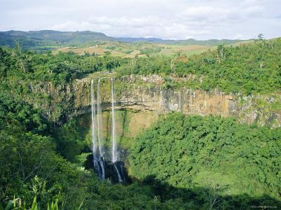 Chamarel Waterfall, Mauritius-Fraser Hall-Photographic Print