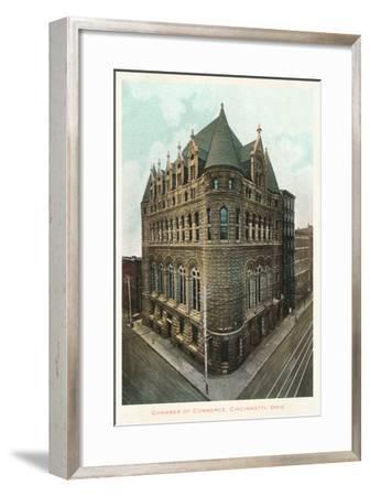 Chamber of Commerce, Cincinnati, Ohio--Framed Art Print