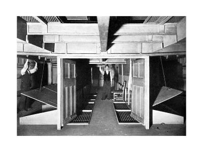 Chambers for the Supply of Fresh Air under the House of Commons, Westminster, London, C1905--Giclee Print