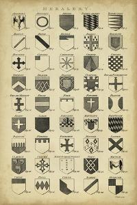 Vintage Heraldry I by Chambers