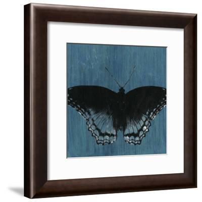 Chambray Butterflies II-Naomi McCavitt-Framed Art Print