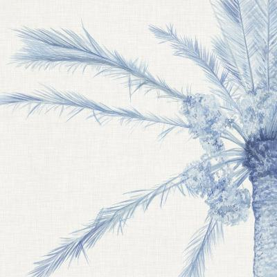 Chambray Palms I-Megan Meagher-Art Print