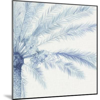 Chambray Palms II-Megan Meagher-Mounted Art Print