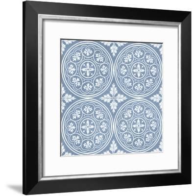 Chambray Tile V-Vision Studio-Framed Giclee Print