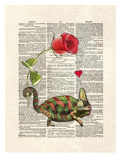 Chameleon Love-Matt Dinniman-Art Print