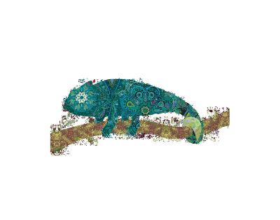 Chameleon-Teofilo Olivieri-Art Print