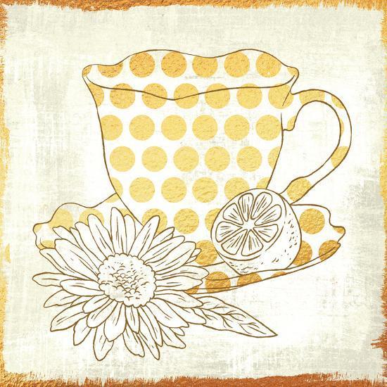 Chamomile Lemon Tea-Cleonique Hilsaca-Art Print