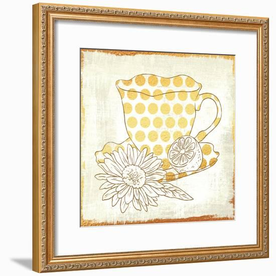 Chamomile Lemon Tea-Cleonique Hilsaca-Framed Art Print