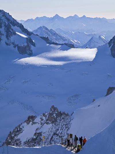 Chamonix-Mont-Blanc, French Alps, Haute Savoie, France-Gavin Hellier-Photographic Print
