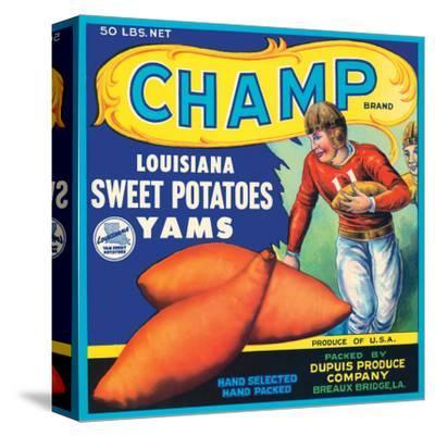 Champ Brand Louisiana Sweet Potatoes, Yams