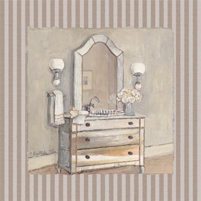 Champagne Bath I-Charlene Winter Olson-Art Print