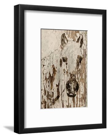 Champagne Horse--Framed Art Print