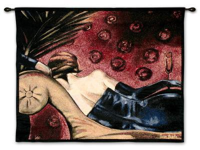 Champagne Lounge-Trish Biddle-Wall Tapestry