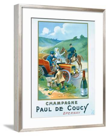 Champagne Paul de Coucy--Framed Giclee Print