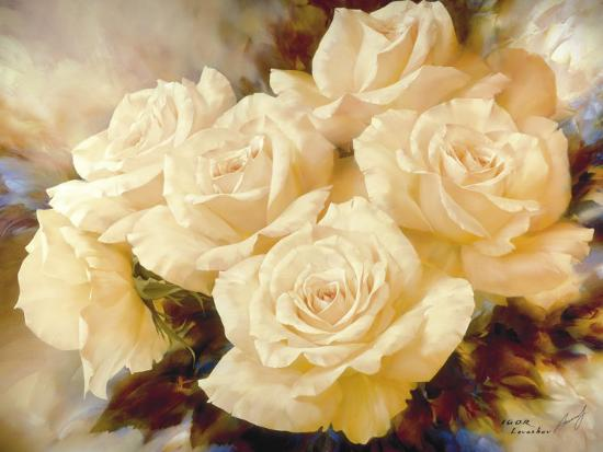 Champagne Roses-Igor Levashov-Art Print