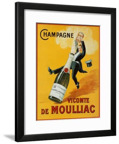Champagne--Framed Art Print