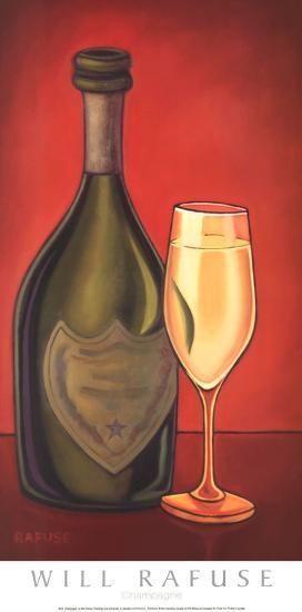 Champagne-Will Rafuse-Art Print