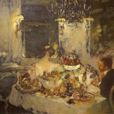 Champagne-Gaston La Touche-Giclee Print