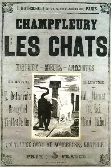 Champfleury Les Chats--Art Print