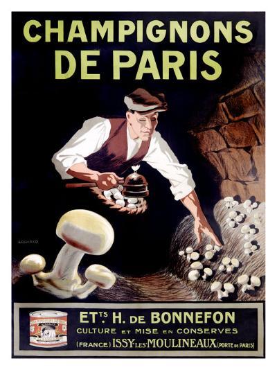 Champignons de Paris--Giclee Print