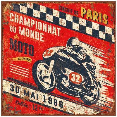 Championnat monde 1966-Bruno Pozzo-Art Print