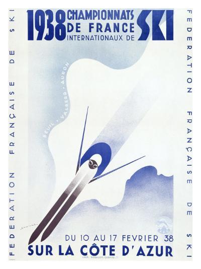 Championnats de France, c.1938--Giclee Print