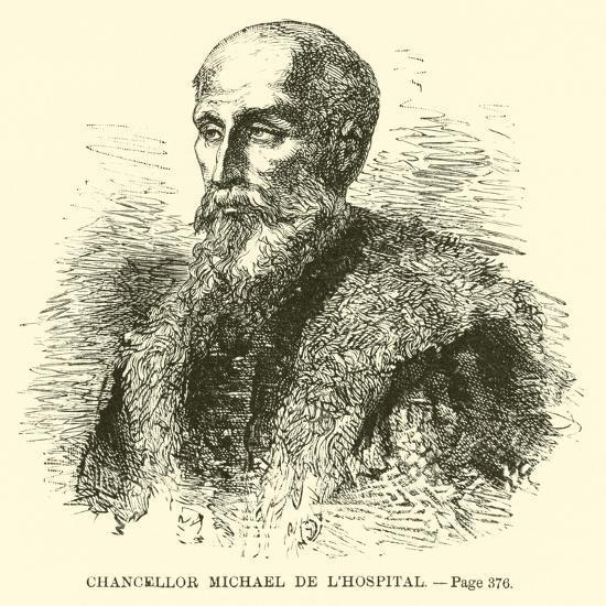 Chancellor Michael De L'Hospital--Giclee Print