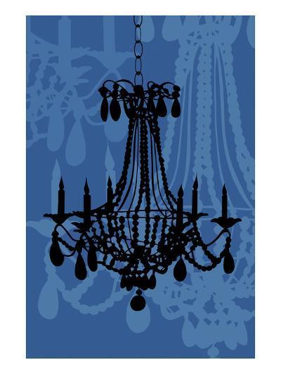 Chandelier 4 Blueberry-Sharyn Sowell-Premium Giclee Print