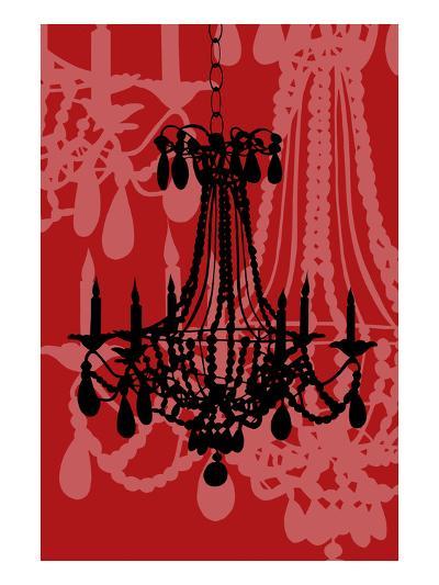 Chandelier 4 Wine-Sharyn Sowell-Premium Giclee Print