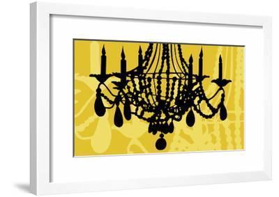 Chandelier 6 Yellow-Sharyn Sowell-Framed Giclee Print