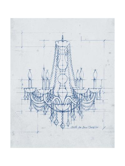 Chandelier Draft IV-Ethan Harper-Art Print