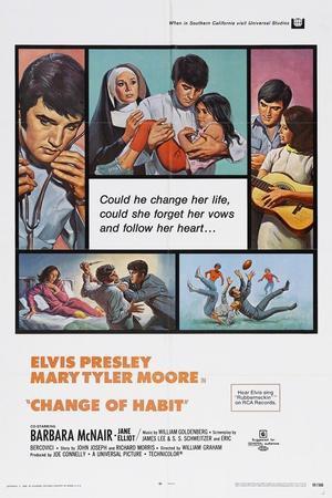 Change of Habit, 1969--Giclee Print