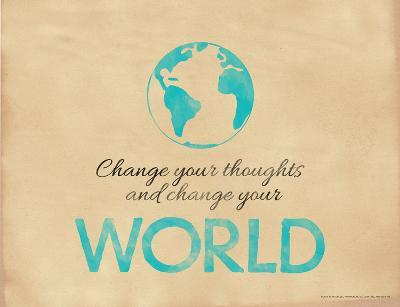 Change Your Thoughts and Change Your World-Jeanne Stevenson-Giclee Print