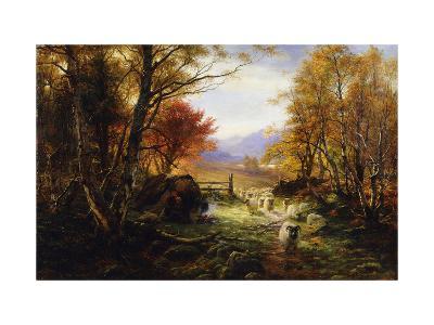 Changing Pastures, Evening-Joseph Farquharson-Giclee Print
