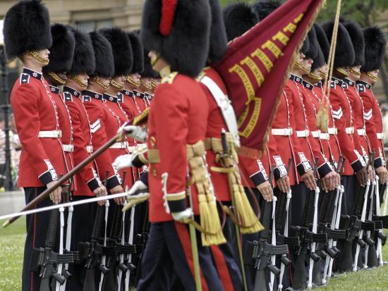 Changing the Guard Ceremony, Parliament Hill, Ottawa, Ontario, Canada, North America-De Mann Jean-Pierre-Photographic Print