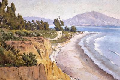 Channel Drive Montecito-Ludmilla Welch-Art Print