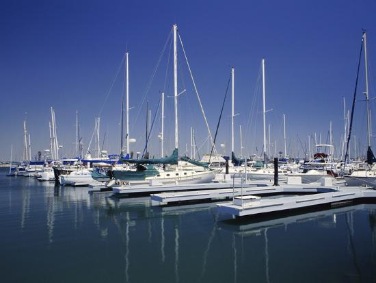 Channel Islands Marina, Oxnard, California, USA--Photographic Print