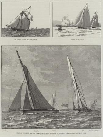 Channel Match of the New Thames Yacht Club, Southend to Harwich, Starting from Southend Pier