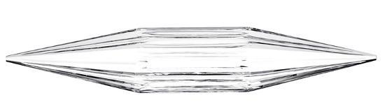 Channeled Crystal Baton--Home Accessories