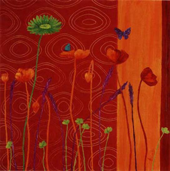 Chant d'Ete-Anne Besombes-Art Print