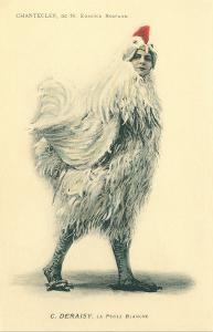 Chanticleer, Man in Chicken Suit
