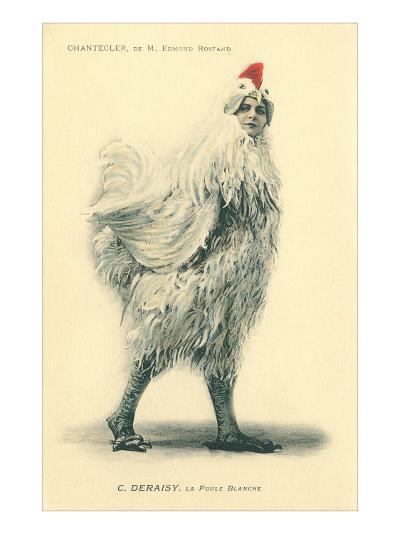 Chanticleer, Man in Chicken Suit--Art Print