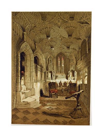 Chantry Chapel Adjoining the Beauchamp Chapel Warwick, UK--Giclee Print