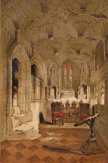 'Chantry Chapel', c1845, (1864)-Unknown-Giclee Print