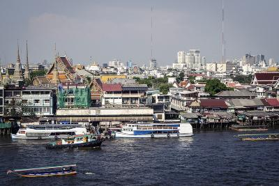 Chao Phraya River, Bangkok, Thailand, Southeast Asia, Asia-Andrew Taylor-Photographic Print