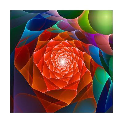 Chaos Space Flower- sgame-Art Print