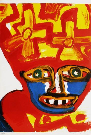Chapeau rouge et jaune-Bengt Lindstroem-Limited Edition