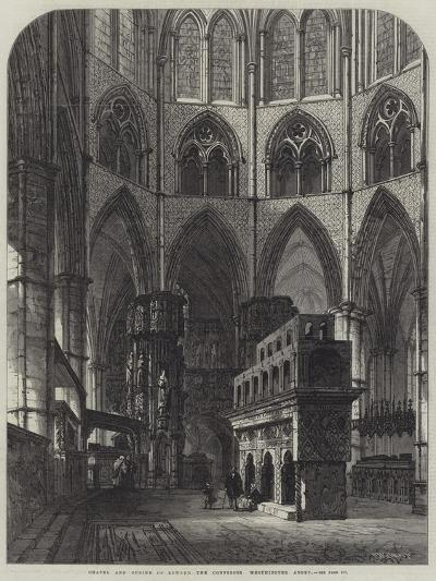Chapel and Shrine of Edward the Confessor, Westminster Abbey-Samuel Read-Giclee Print