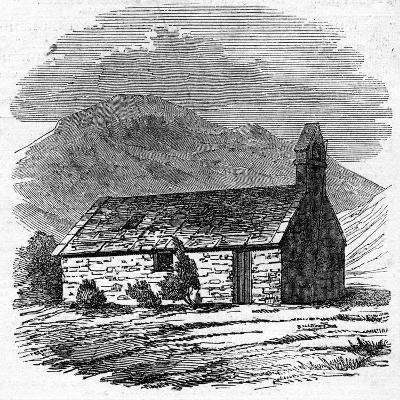 Chapel at Wastdale Head, Cumberland--Giclee Print